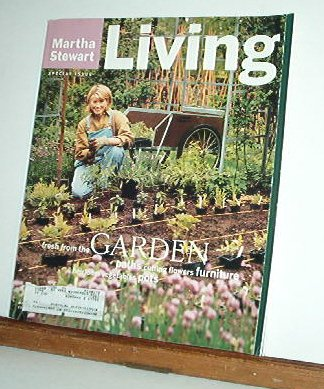 Magazine - Martha Stewart Living - Free Shipping - No. 37 March 1996