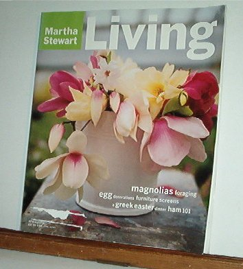 Magazine - Martha Stewart Living - Free Shipping - No. 38 April 1996
