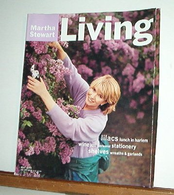Magazine - Martha Stewart Living - Free Shipping - No. 39  May 1996