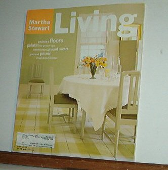 Magazine - Martha Stewart Living - Free Shipping - No. 40  June 1996