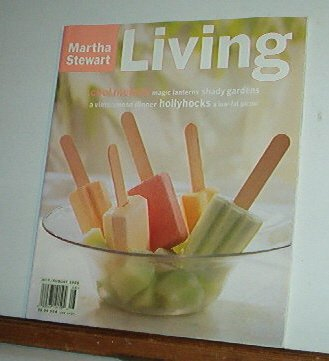 Magazine - Martha Stewart Living - Free Shipping - No. 41 July/August 1996