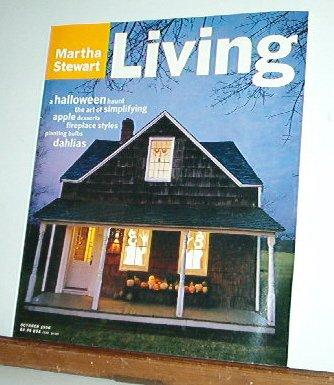 Magazine - Martha Stewart Living - Free Shipping - No.43 October 1996