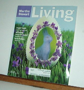 Magazine - Martha Stewart Living - Free Shipping - No. 48  April 1997