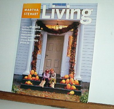 Magazine - Martha Stewart Living - Free Shipping - No. 53 October 1997