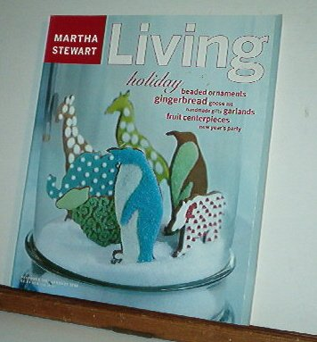 Magazine - Martha Stewart Living - Free Shipping - No. 55 Dec 1997 and Jan 1998