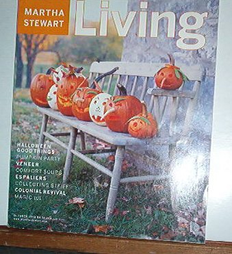 Magazine - Martha Stewart Living - Free Shipping - No.  73  October 1999
