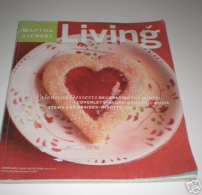 Magazine - Martha Stewart Living - Free Shipping - No. 76 February 2000