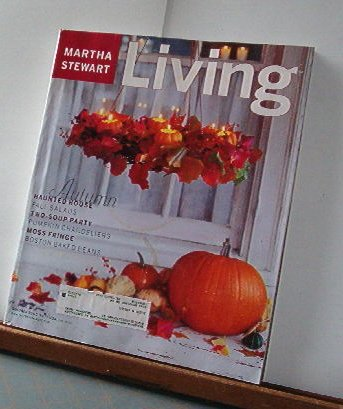 Magazine - Martha Stewart Living - Free Shipping - No. 83 October 2000