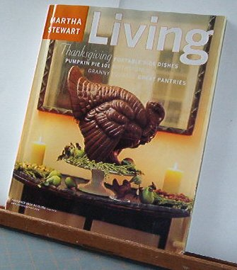 Magazine - Martha Stewart Living - Free Shipping - No. 84 November 2000