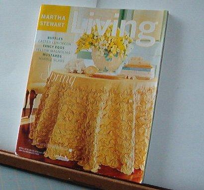 Magazine - Martha Stewart Living - Free Shipping - No.89 May 2001
