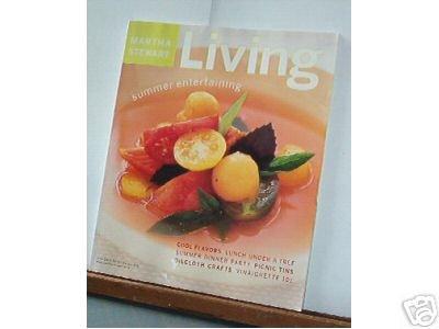 Magazine - Martha Stewart Living - Free Shipping -  No. 92 July 2001