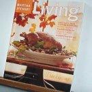 Magazine - Martha Stewart Living - Free Shipping - No.96  November 2001