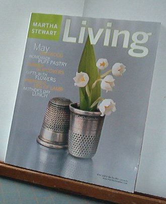 Magazine - Martha Stewart Living - Free Shipping - No. 102 May 2002