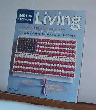 Magazine - Martha Stewart Living - Free Shipping - No. 104 June 2002