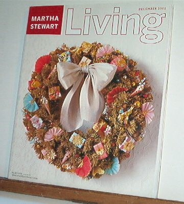 Magazine - Martha Stewart Living - Free Shipping - No. 109  December 2002