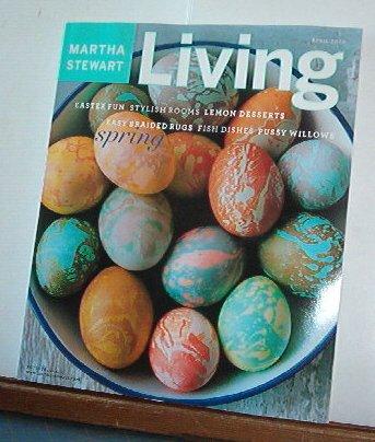 Magazine - Martha Stewart Living - Free Shipping - No. 113  April 2003