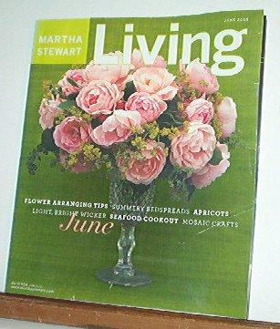 Magazine - Martha Stewart Living - Free Shipping - No. 115  June 2003