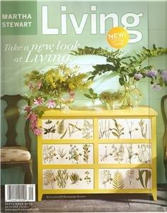 Magazine - Martha Stewart Living - Free Shipping - No. 130  September 2004