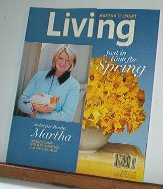 Magazine - Martha Stewart Living - Free Shipping - No. 137  April 2005