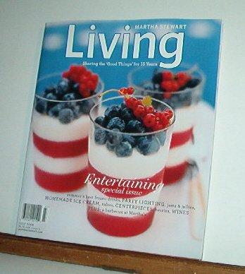 Magazine - Martha Stewart Living - Free Shipping - No.  152  July 2006