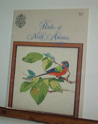 Cross Stitch Patterns - BIRDS OF NORTH AMERICA  12 Birds Highly detailed
