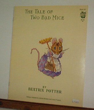 Cross Stitch Patterns - 4 designs - TALE OF TWO BAD MICE - PEATRIX POTTER Sweet