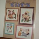 Cross Stitch Patterns - 10 designs - CATS Small to Large sizes