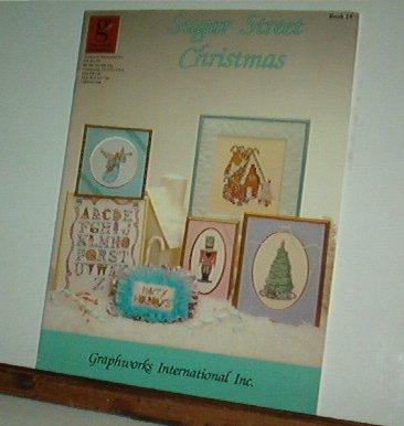 Cross Stitch Pattern SUGAR STREET CHRISTMAS 16 Designs Sweet