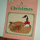 Cross Stitch Pattern A GORDON FRASER CHRISTMAS Geese, Bears & More