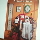Cross Stitch Pattern A COUNTRY HOLIDAY by Freida Pearce 6 Designs