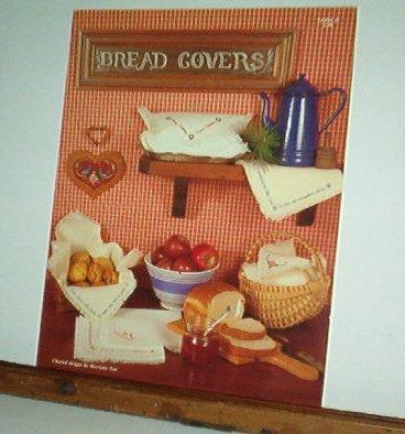 Cross Stitch Pattern, BREAD COVERS by Harriet Tew 6 designs