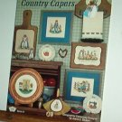 Cross Stitch Pattern, COUNTRY CAPERS by Juana Stewart  14 designs