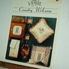 Cross Stitch Pattern, COUNTRY WELCOME by Vangie