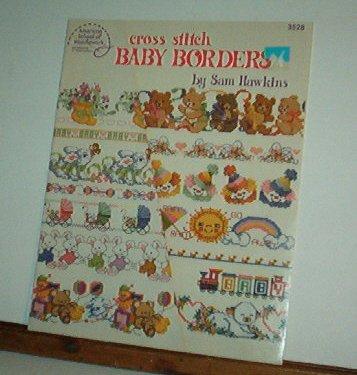 Cross Stitch Pattern, BABY BORDERS by Sam Hawkins