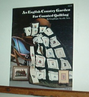 Cross Stitch Pattern, ENGLISH COUNTRY GARDEN SQUARE  + Anne Hathaways Cottage