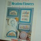 Cross Stitch Pattern, MEADOW FLOWERS  by Karen Avery 5 designs + alphabet