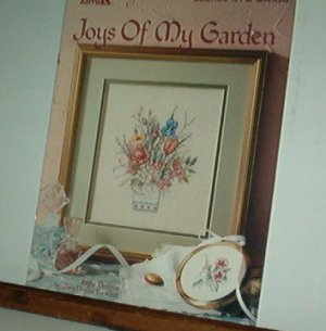 Cross Stitch Pattern, JOYS OF MY GARDEN 7 designs by Mary Bertrand