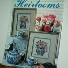Cross Stitch Pattern,  HEIRLOOMS Roses and tea cups 6 designs by Sandy Clough