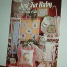 Cross Stitch Pattern, JUST FOR BABY by Dick Martin, 28 designs (small) mis and match