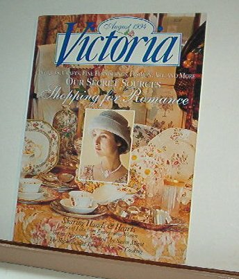 Magazine - VICTORIA - Like New -- August 1994