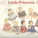 Sewing Pattern Sunrise Little Princess Infant Dresses 3-12 mos + Preemie