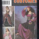 Sewing Pattern Simplicity 9966 Gypsy princess size 14-22 Nice