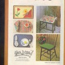 Sewing Pattern Simplicity 8760 Easy place maps and chair seats one size