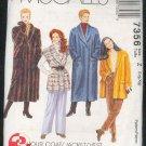 Sewing Pattern  McCall's 7356 Winter coat, jacket, fleece vest Sizes 16-22