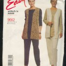 Sewing Pattern McCall's 9662 Pants, Top & Long Vest Size 14-20