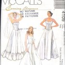 Sewing Pattern  4109 McCall's Wedding and Formal Gown Lingerie Sizes 4-10