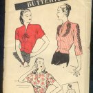 Sewing Pattern  Butterick Vintage 3549 Three Blouses styles Size 20