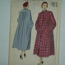 Sewing Pattern Advance Vintage 4985 Winter Coat Size 14