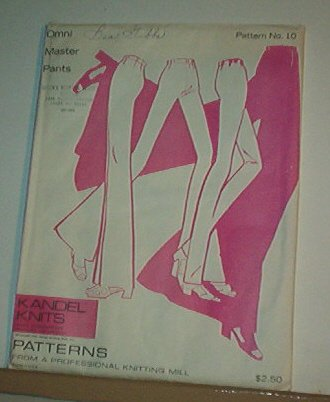Sewing Pattern Kandel Knits 10 - Master Pants  Sizes 8 - 20 Perfect Fit is possible!