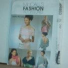 Sewing Pattern McCall's M4850 Shalls, Stoles and Shrugs, One Size
